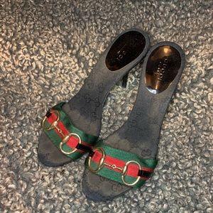 Gucci Slip on Heels